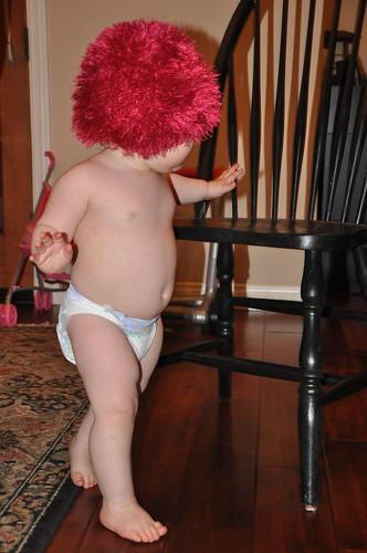 fuzzy hat 15 months