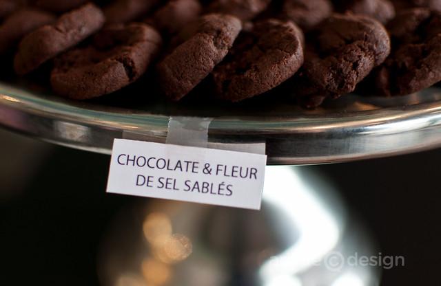 Chocolate & Fleur de Sel Sablés