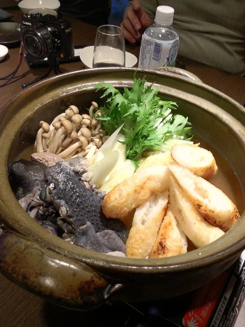 烏骨雞烤飯糰秋田鍋