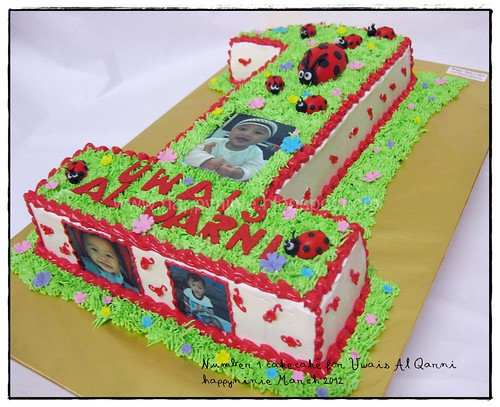 No 1 cake for uwais