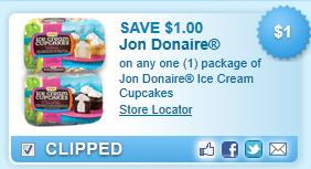 Jon Donaire Ice Cream Cupcakes  Coupon