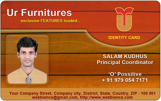 Free ID Card Templates: April 2012