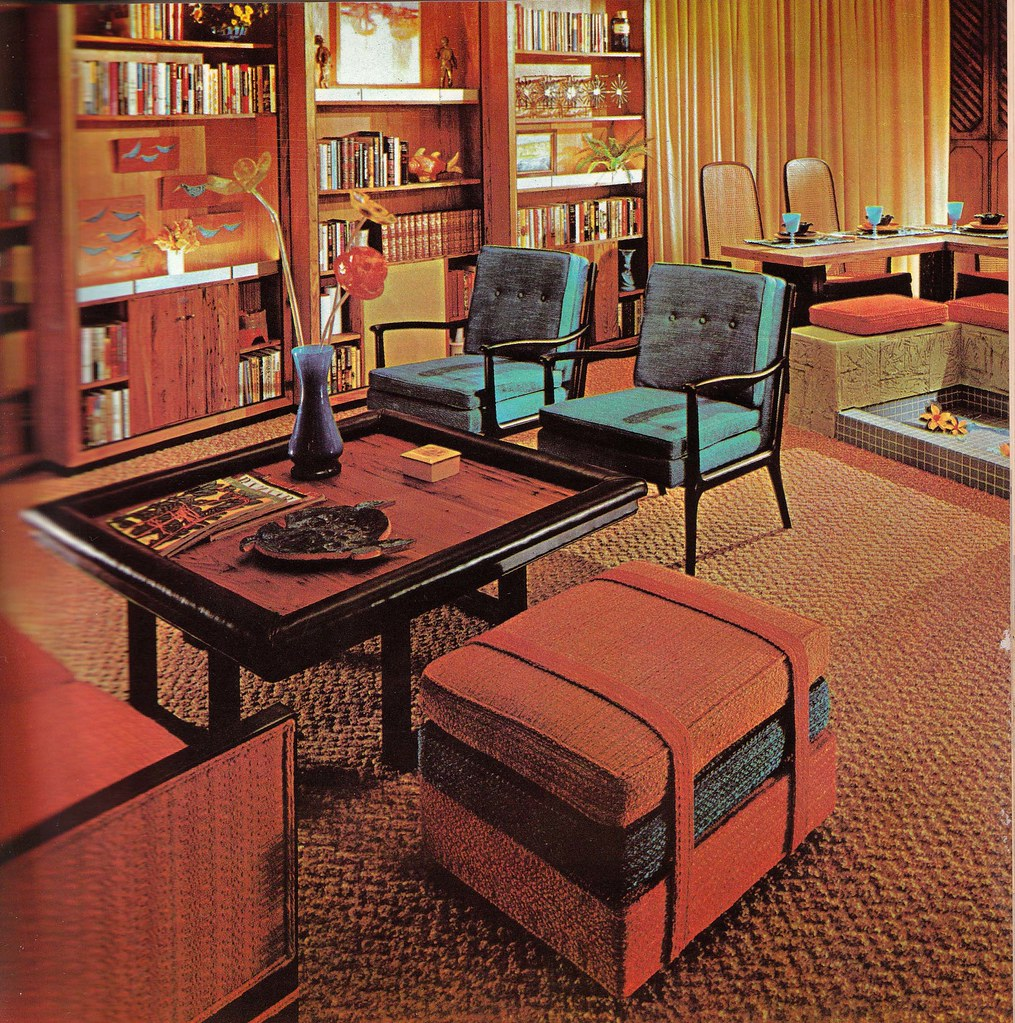 House Interior Decorating: Retrospace: The Vintage Home #15: 1965 Interiors