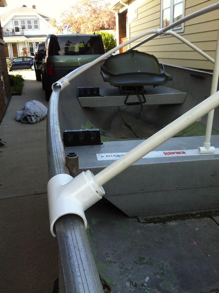 Vwvortex Com Diy Boat Cover Or Tarp Support
