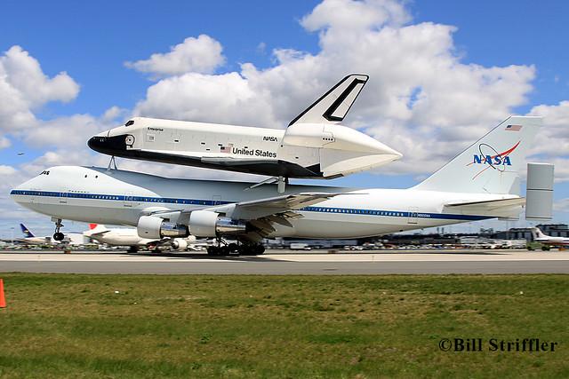 space shuttle enterprise landing - photo #40