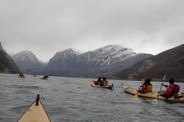 Casual Aurlandsfjord kayak