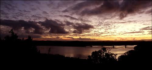 bridge sunset clouds river view ballina northcreek naturethroughthelens ourdailychallenge eylesdrivelookout