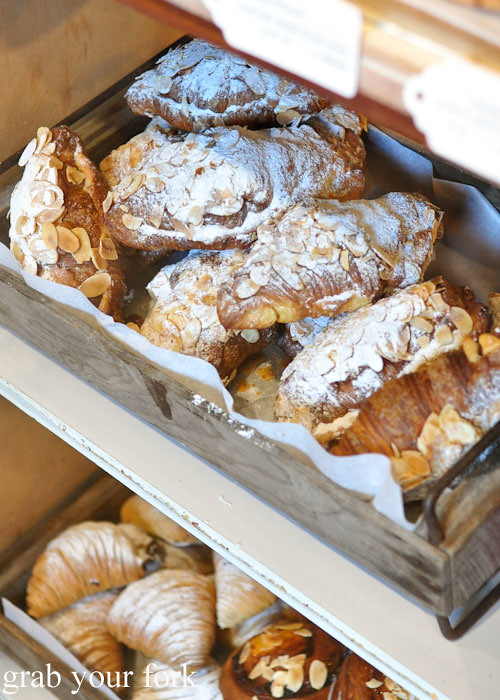Almond crossiants by From Scratch at the Adelaide Showground Farmers Market