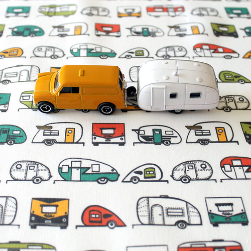 Retro Fabric Prints