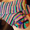 Vesper spring time happy dance socks