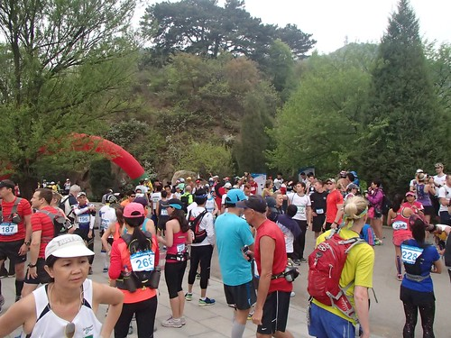 Start of Great Wall of China Marathon