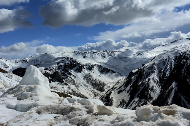 poze superbe peisaje de munte Alpii Francezi Flickr imagini frumoase de iarna primavara Col de la Bonette