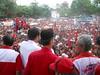Jokowi dan Hamka Haq di hadapan puluhan ribu massa pada saat kampanye di Jember 4 April 2014.