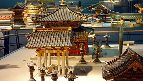 Temple minatures