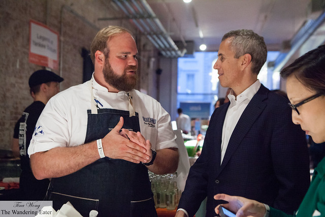 Executive Chef Jean-Paul Bourgeois of Blue Smoke & Danny Meyer of Union Square Hospitality