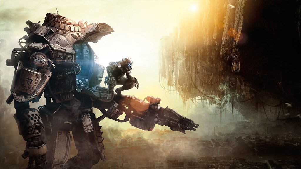 Titanfall in Real Life | What If Titan's Were Real? - Book N Tech