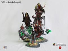 Sir Wizard Mecha-Nic Stronghold 01