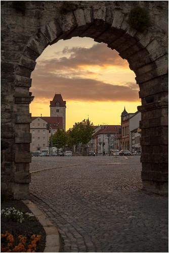 city sunset green germany deutschland thüringen spring thuringia oldtown mühlhausen ef24105mmf4lisusm canoneos5dmarkii thomasmüntzerstadt