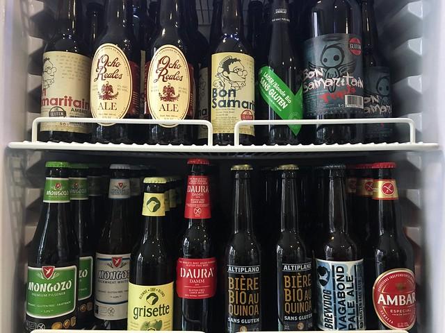 La Coutinelle gluten-free beers Bon Samaritain Mongozo Estrella Damm Brewdog Montpellier France