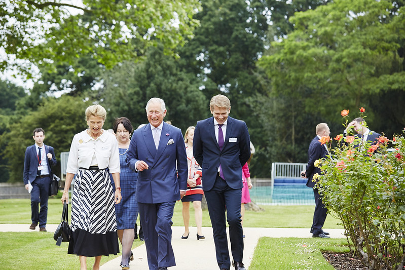 His Royal Highness the Prince of Wales visits White Lodge