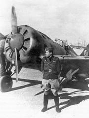 И16 тип 10 в Испании (1936-1939 годы).