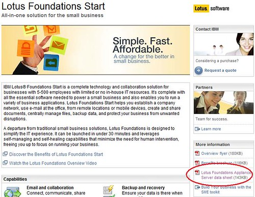 Lotus Foundations Web Page