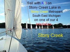 Stony Creek Metropark, Sail With ASI click on picture for fee and signup information