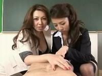 巨乳痴女教師の特別授業
