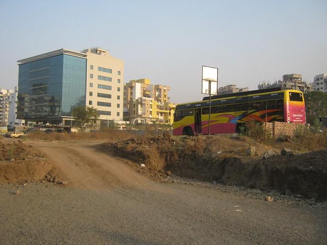 Galore Tech from the way to Lohia Jain Group's Riddhi Siddhi, 2 BHK & 3 BHK Flats at Bavdhan Khurd, Pune 411 021