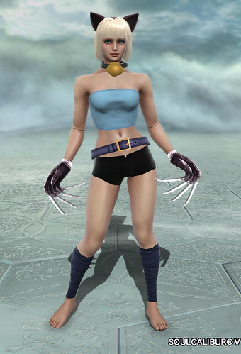 Soul Calibur V Custom Character: Ms. Fortune, by A.K.