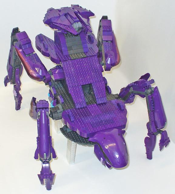 halo mega bloks scarab instructions