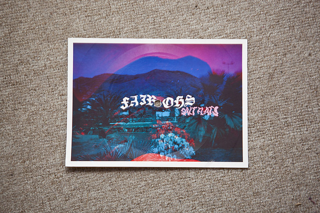 Fair Ohs - Salt Flats vinyl/postcard
