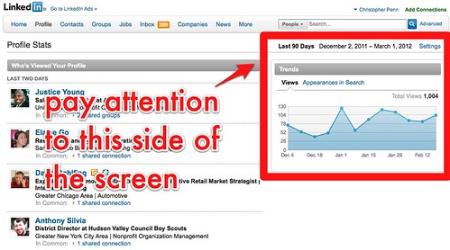 how to increase search appearances in linkedin