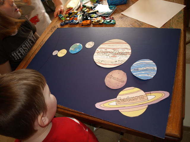 solar system projects on poster board pics about space