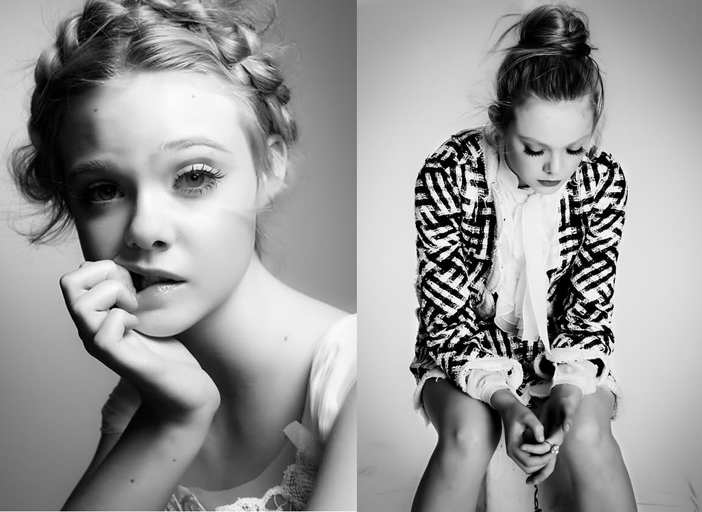 Elle Fanning for Interview Magazine 1