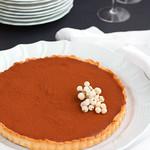 Tarte alla mousse di cioccolato fondente