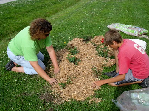 Involve the Children in Frugal Projects like Gardening (82/365)