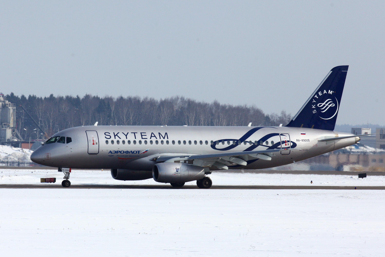 6ºSSJ100 Aeroflot