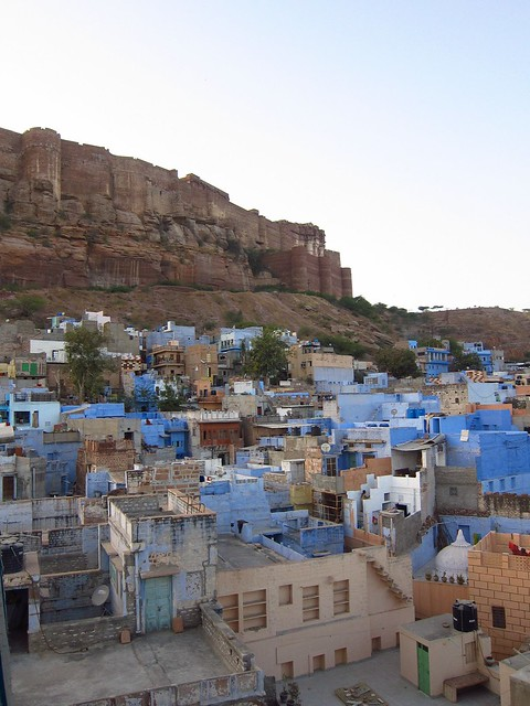 View of Meherangarh Fort from Jodhpur