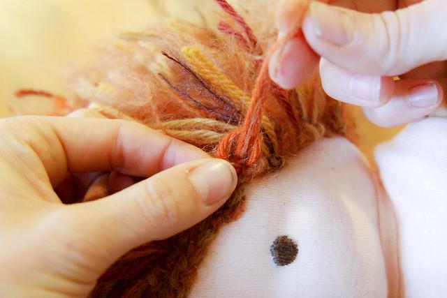 braided doll wig tutorial