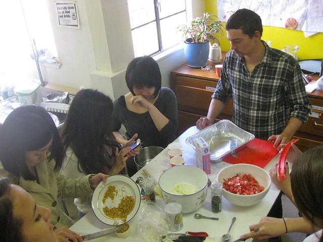 team rhubarb almond bars