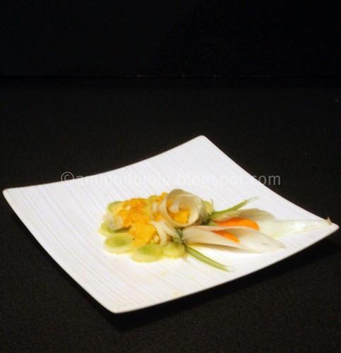 Insalata ikebana style