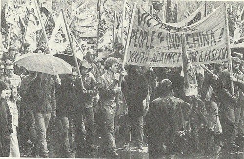 April 1972 War Demonstration, NYC, NY (Leslie Leon from Keystone)