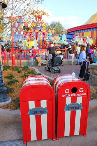 Trash Cans - Storybook Circus