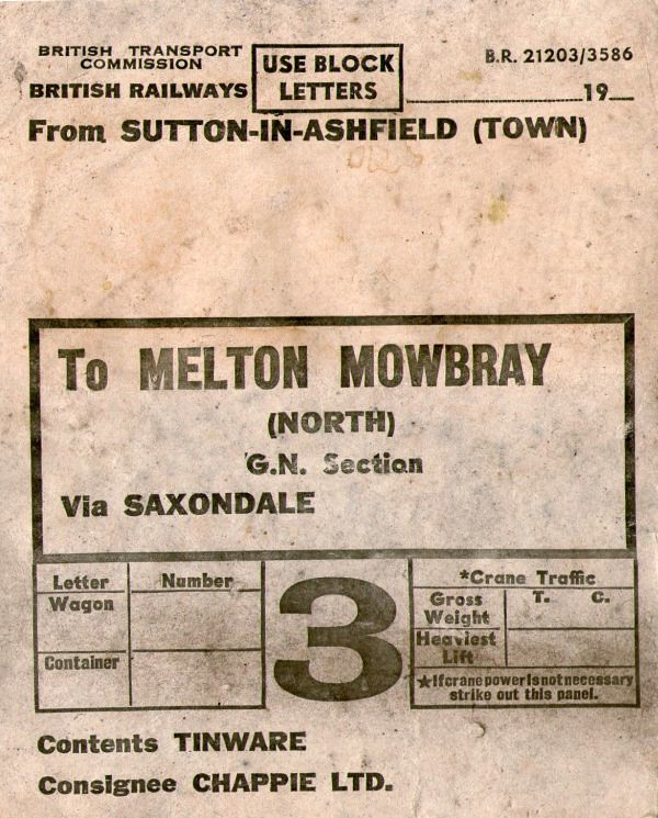 wagon label melton north