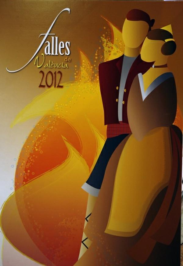 Cartel de las Fallas de Valencia de 2012