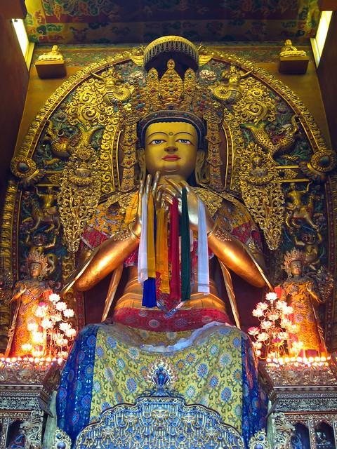 Buddha at Boudha