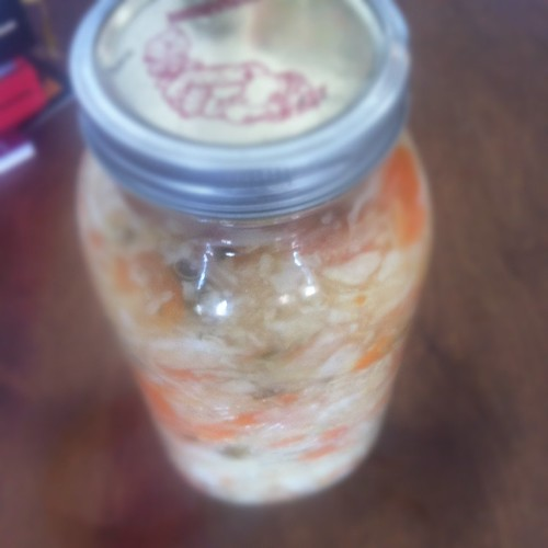 How to Make Carrot and Cabbage Kimchi (Recipe) Preserving Recipes Carrot Cabbage