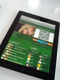 Responsive design my ass ... alle @jemeinsam menues auf einem ipad
