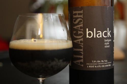 Allagash Black Belgian Style Stout